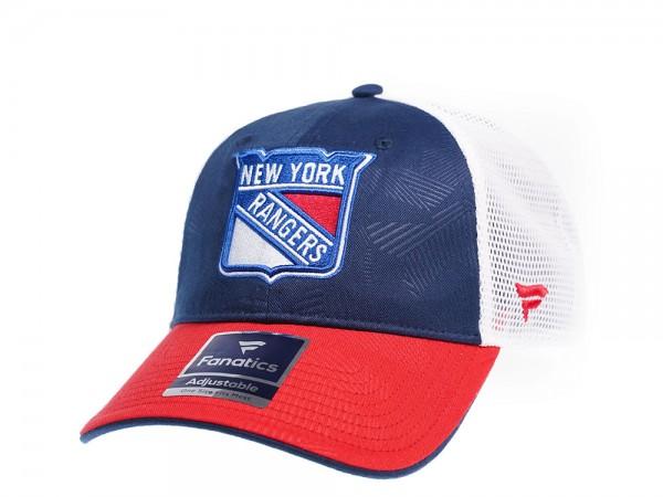 Fanatics New York Rangers Iconic Trucker Snapback Cap