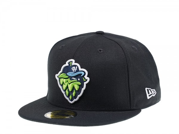 New Era Hillsboro Hops Black Edition 59Fifty Fitted Cap