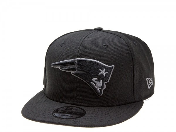 New Era New England Patriots Dark Gray Edition 9Fifty Snapback Cap