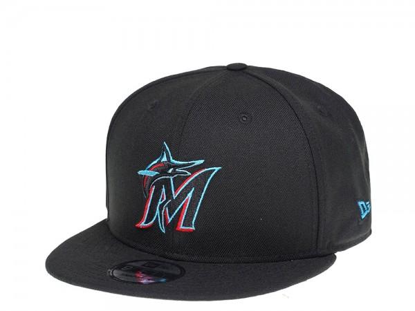 New Era Miami Marlins Black Edition 9Fifty Snapback Cap