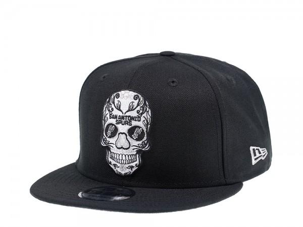 New Era San Antonio Spurs Skull Edition 9Fifty Snapback Cap