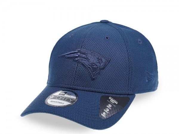 New Era New England Patriots Mono Colour 9Forty Snapback Cap