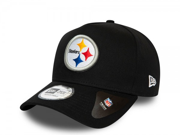 New Era Pittsburgh Steelers A Frame Adustable Snapback Cap