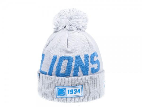 New Era Detroit Lions Sideline 2019 Road Reversible Color Mütze
