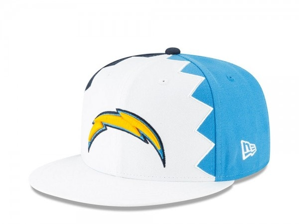 New Era Los Angeles Chargers Draft 19 9Fifty Snapback Cap