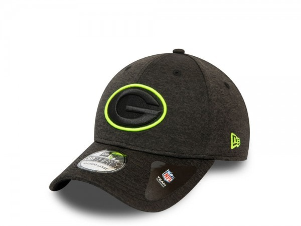 New Era Green Bay Packers Shadow Tech Outline Stretch Fit 39Thirty Cap