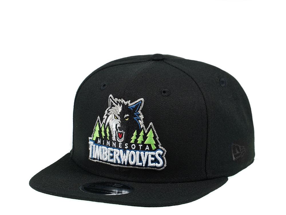 New Era Minnesota Timberwolves Original Fit Black Edition 9Fifty Gorra snapback