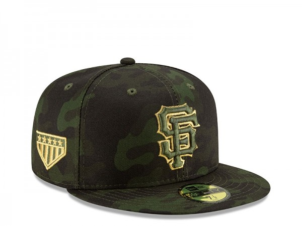 New Era San Francisco Giants Armed Forces Day On Field Fitted 59Fifty Cap