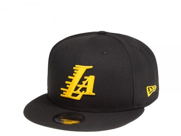 New Era Los Angeles Lakers LA Script 9Fifty Snapback Cap