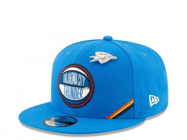 New Era Oklahoma City Thunder Draft 19 9Fifty Snapback Cap