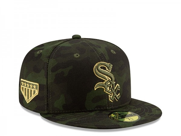 New Era Chicago White Sox Armed Forces Day On Field Fitted 59Fifty Cap
