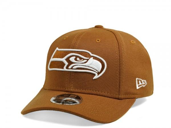 New Era Seattle Seahawks Toasted Peanut Edition 9Fifty Stretch Snapback Cap