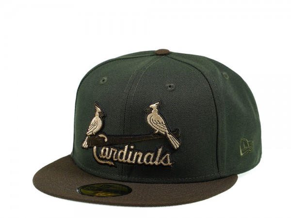 New Era St. Louis Cardinals Seaweed Edition 59Fifty Fitted Cap