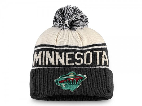 Fanatics Minnesota Wild Bobble Mütze