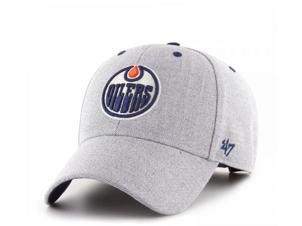 47brand Edmonton Oilers Storm Cloud MVP Strapback Cap