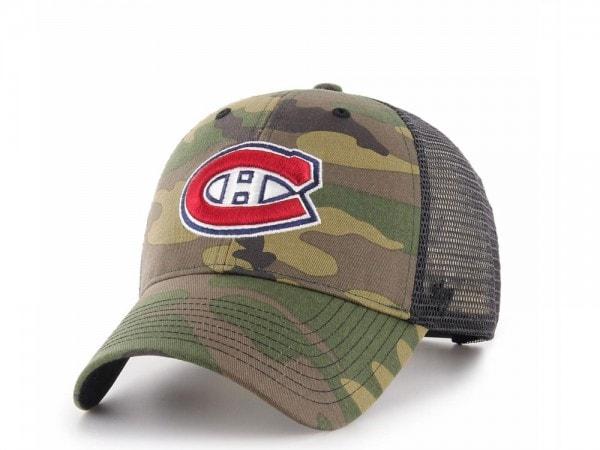 47Brand Montreal Canadiens MVP Camo Trucker Snapback Cap