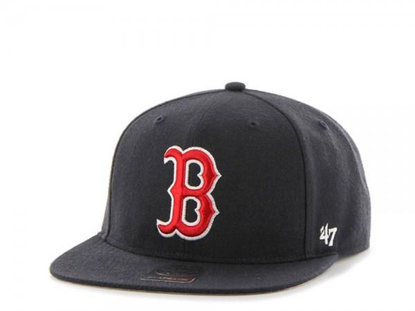 47brand Boston Red Sox No Shot Captain Snapback Cap