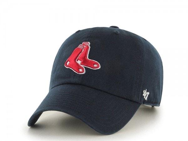 47brand Boston Red Sox Clean Up Strapback Cap