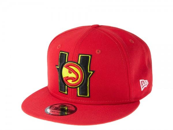 New Era Atlanta Hawks Back Half Series 9Fifty Snapback Cap