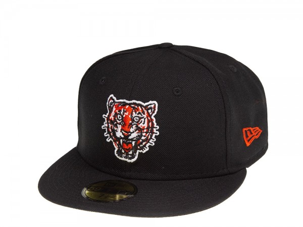 New Era Detroit Tigers Coops Wool Fitted 59Fifty Cap