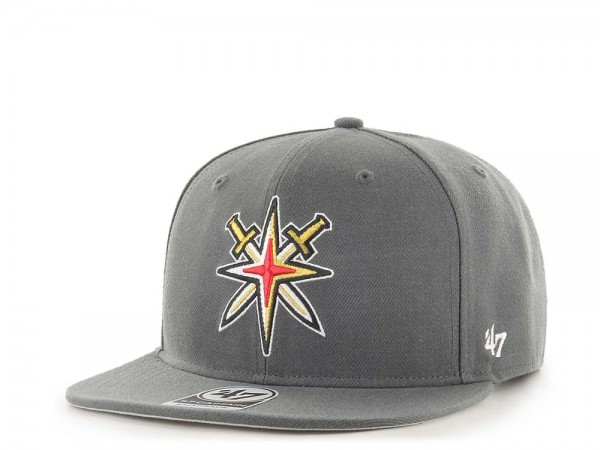 47Brand Vegas Golden Knights No Shot Alternate Captain Snapback Cap