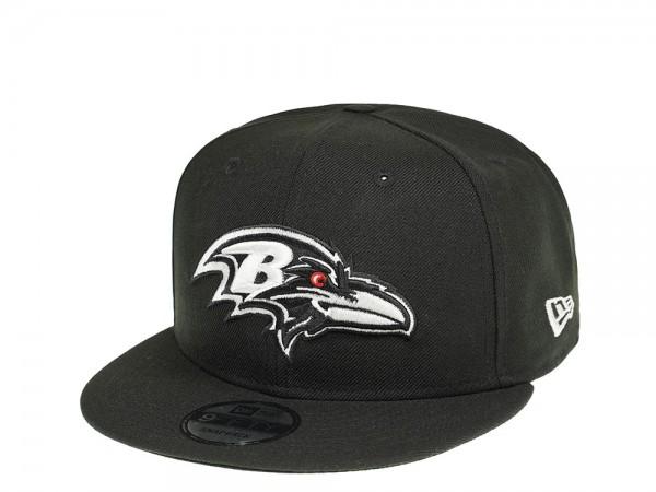 New Era Baltimore Ravens Red Eye 9Fifty Snapback Cap