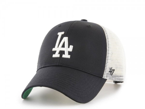 47Brand Los Angeles Dodgers MVP Black Trucker Snapback Cap