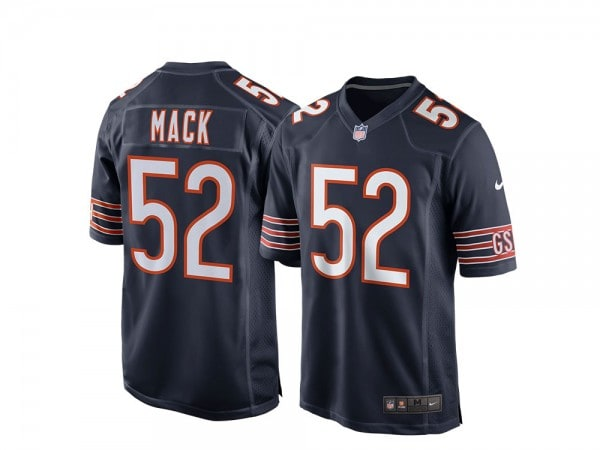 Nike Chicago Bears Khalil Mack Home Game NFL Jersey