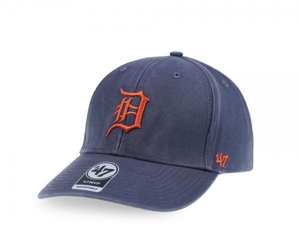 47Brand Detroit Tigers Vintage Ballpark Edition MVP Strapback Cap