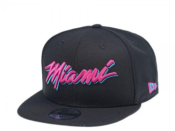 New Era Miami Heat Vice Edition 9Fifty Snapback Cap