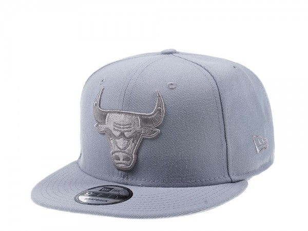 New Era Chicago Bulls All About Grey Edition 9Fifty Snapback Cap
