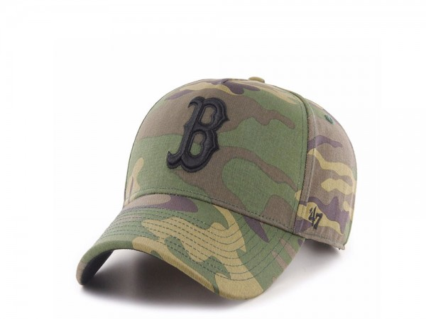 47Brand Boston Red Sox Camo Grove MVP DT Snapback Cap