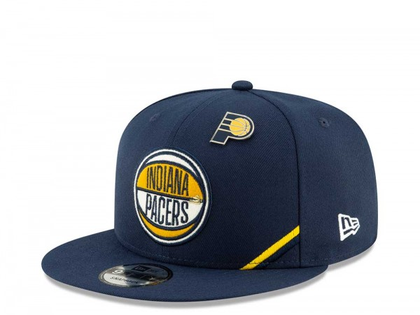 New Era Indiana Pacers Draft 19 9Fifty Snapback Cap
