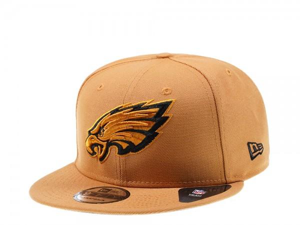 New Era Philadelphia Eagles Panama Tan Edition 9Fifty Snapback Cap