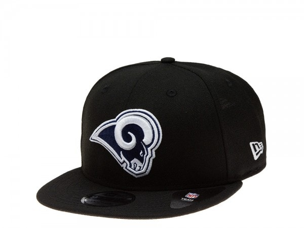 New Era Los Angeles Rams black Edition 9Fifty Snapback Cap