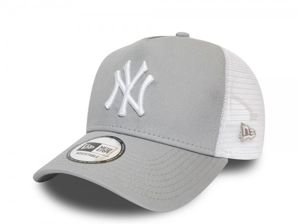 New Era New York Yankees 2Tone Grey Trucker Snapback Cap