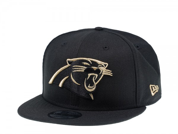 New Era Carolina Panthers All About Black and Gold 9Fifty Snapback Cap