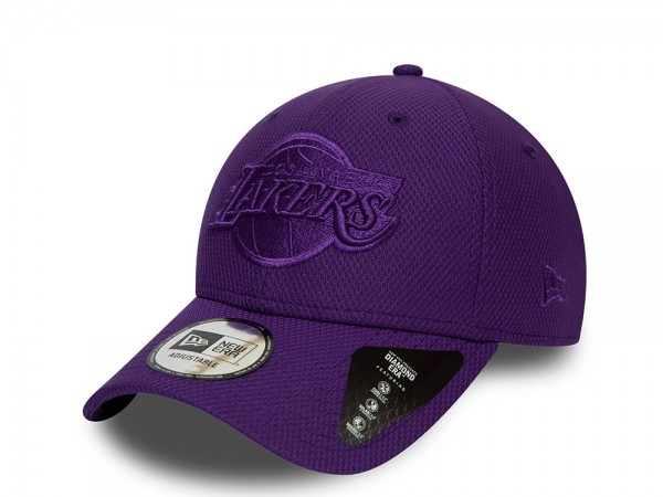 New Era Los Angeles Lakers Mono Team Colour 9Forty Snapback Cap