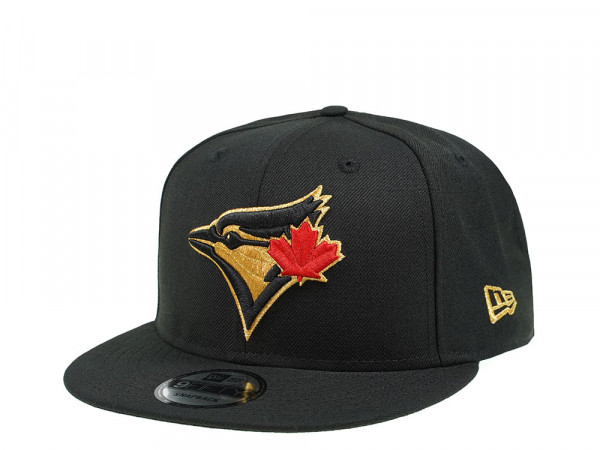 New Era Toronto Blue Jays Gold and Red Edition 9Fifty Snapback Cap