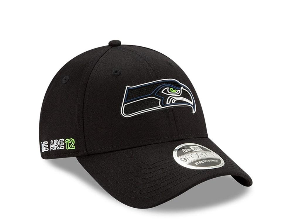 NFL Seattle Seahawks schwarz New Era 59Fifty Fitted Cap