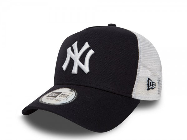 New Era New York Yankees Navy and White Trucker Snapback Cap