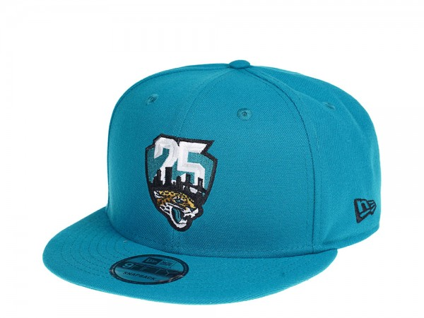 New Era Jacksonville Jaguars Teal Edition 9Fifty Snapback Cap