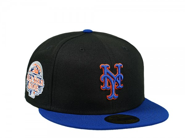 New Era New York Mets All Star Game 2013 Royal Black 59Fifty Fitted Cap