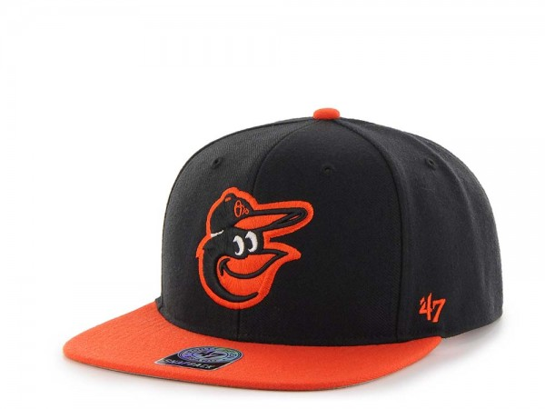 47Brand Baltimore Orioles Sure Shot Captain Two Tone Snapback Cap