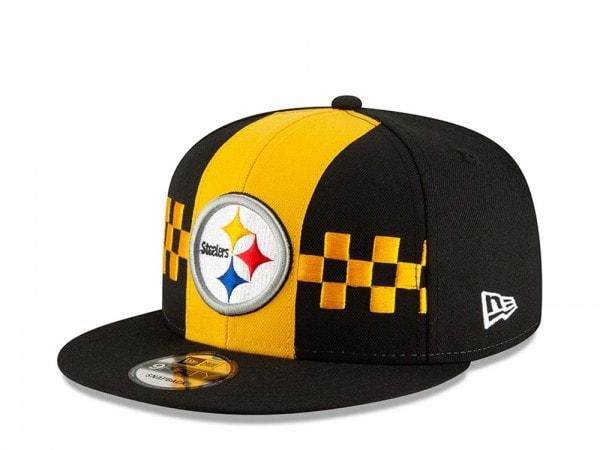 New Era Pittsburgh Steelers Draft 19 9Fifty Snapback Cap