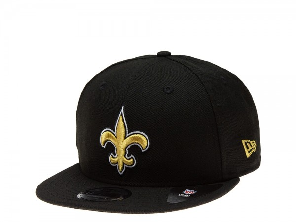 New Era New Orleans Saints All About Black Edition 9Fifty Snapback Cap