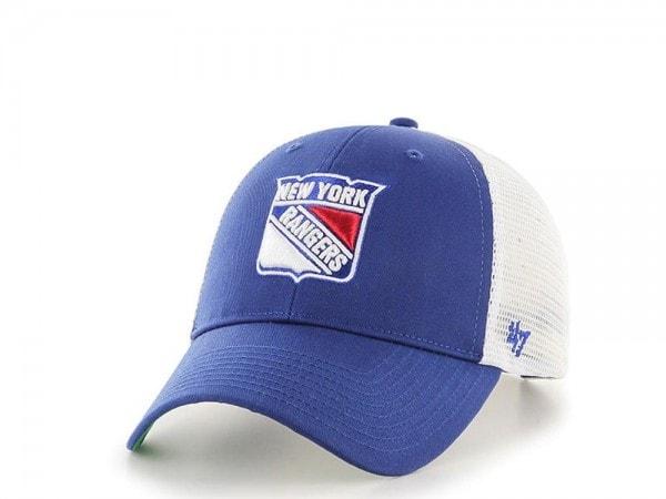 47brand New York Rangers MVP Trucker Snapback Cap