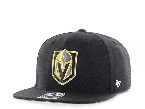 47brand Las Vegas golden Knights Captain Black Snapback Cap