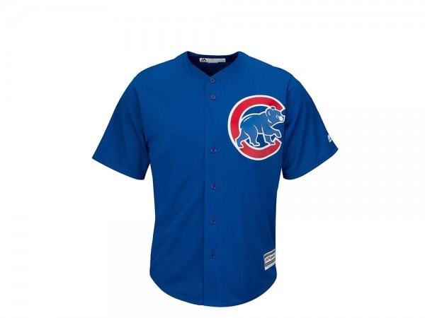 Majestic Chicago Cubs Cool Base MLB Trikot blau
