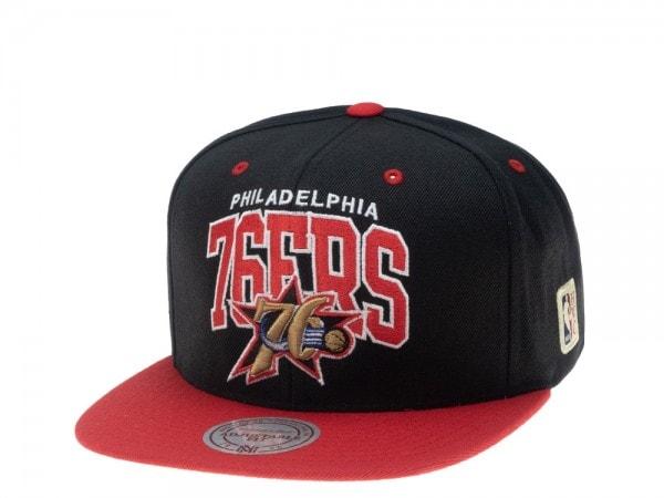 Mitchell & Ness Philadelphia 76ers HWC Team Arch Snapback Cap